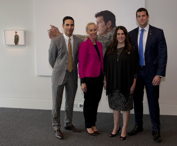 Launch of Ben Roberts-Smith VC portraits by artist Michael Zavro
